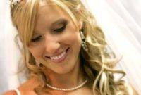 long blond wedding hairstyles