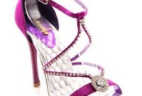 purple bridesmaid shoes