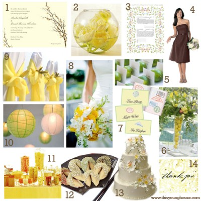spring wedding themes ideas