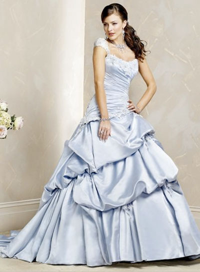 a-line wedding dresses with straps