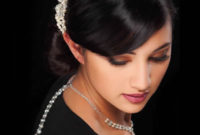 bridal accessories with necklace