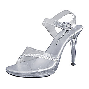 luxurious cinderella wedding shoes