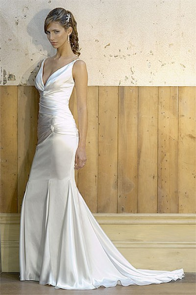 silk cathedral wedding dresses