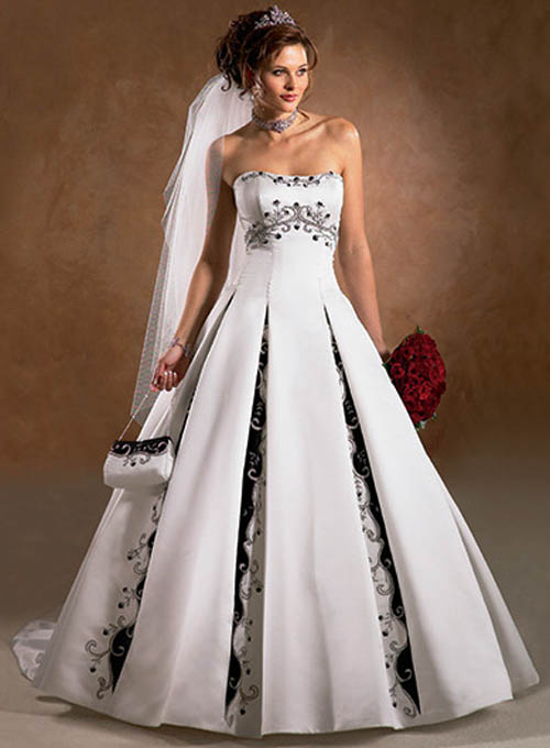 strapless dream wedding dresses