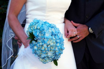 tiffany blue wedding bouquets