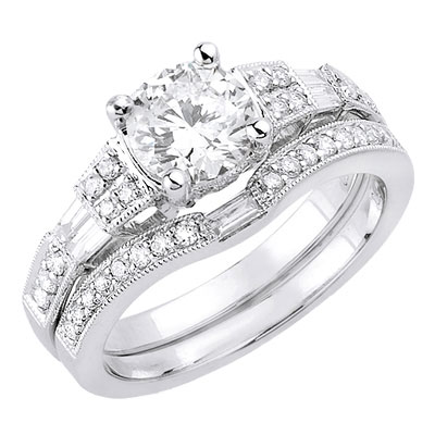 Diamond Wedding Rings Cherry Marry
