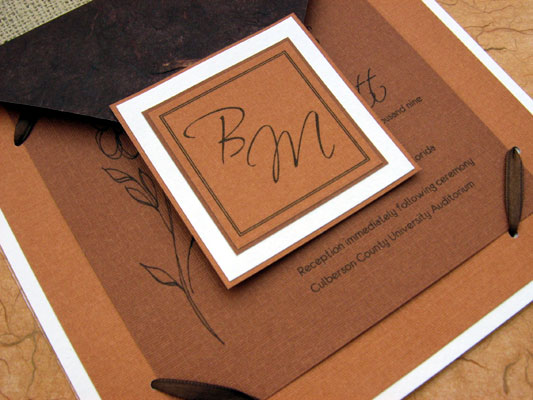fall wedding invitation ideas If you do not have any comfortable feeling to