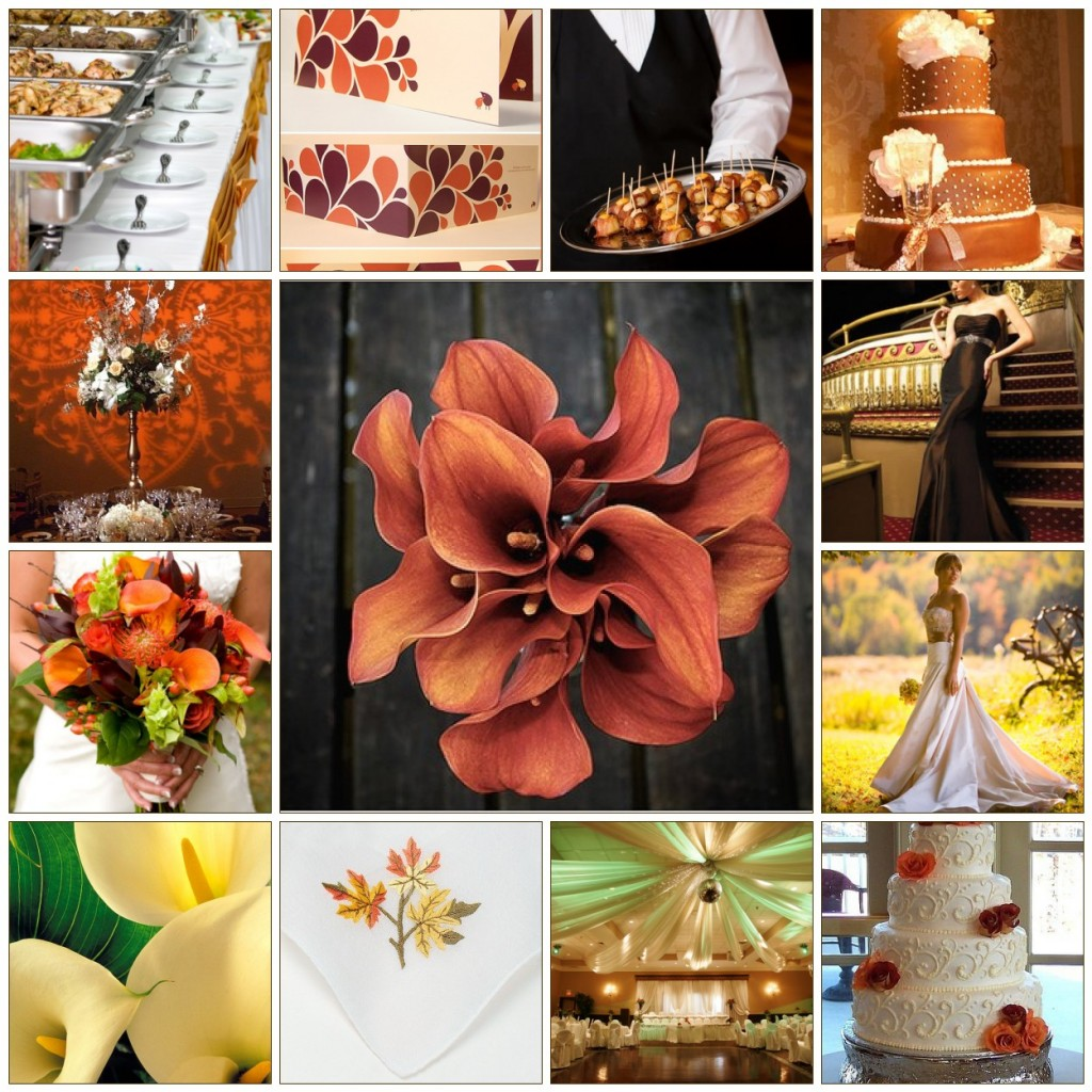 Fall wedding themes cherry marry for Autumn wedding decoration ideas