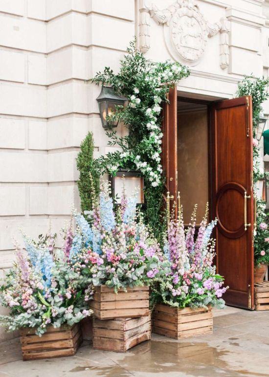 Spring Wedding Theme Idea With A Statement Entrance