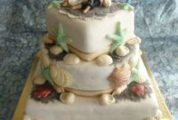 beach wedding cakes