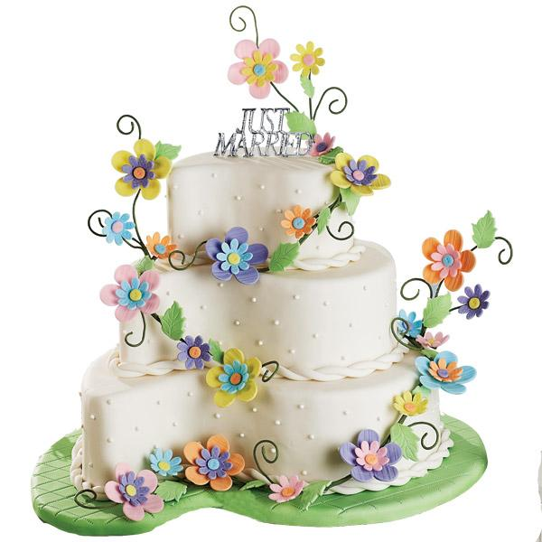 bridal path wedding cake