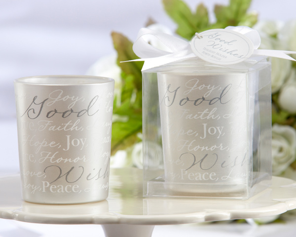 diy candle wedding favors