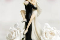 funny kissing wedding cake toppers