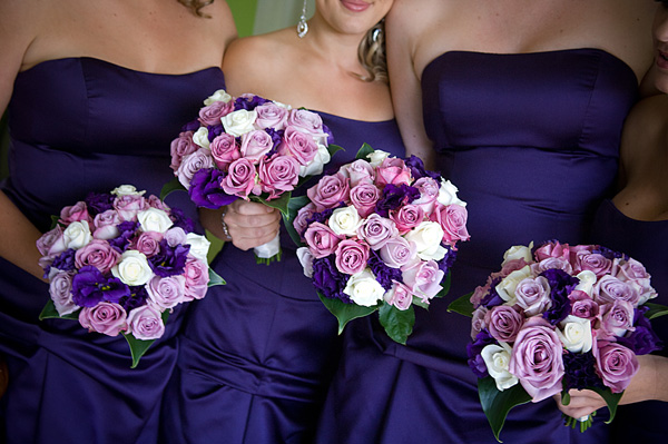 bridal bouquet and how about the flowers for your bridesmaids your