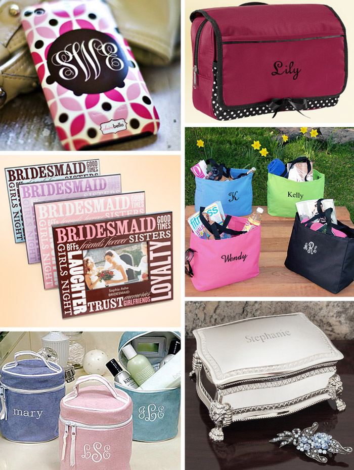 unique personalized bridesmaid gifts