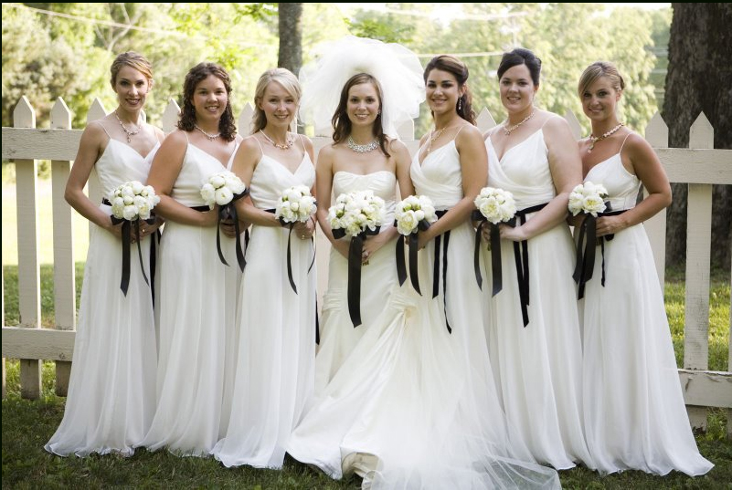 White Bridesmaid Dresses | Cherry Marry