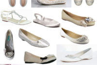 flat ivory wedding shoes