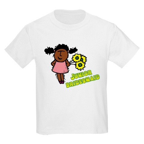 junior bridesmaid t shirt