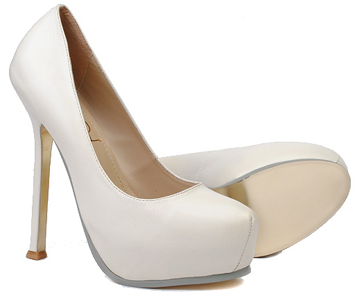 white pumps shoes