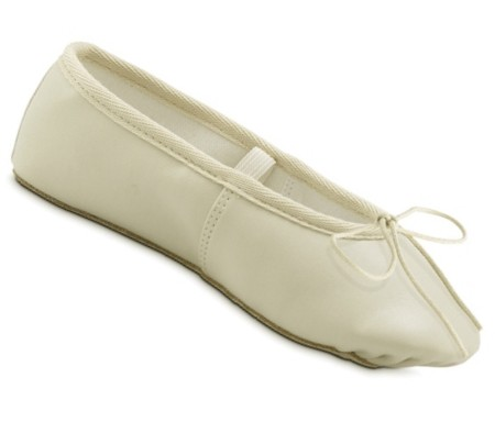 ivory ballet slippers for wedding