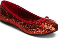 red flat shoes