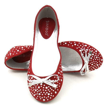 Gorgeous Red Wedding Shoes for Your Bridal Ballet Shoes
