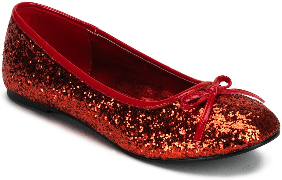 Red Wedding Shoes for Your Bridal Ballet Shoes    red flat shoes