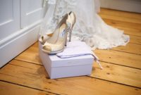 Brown Jimmy Choo Wedding Shoes