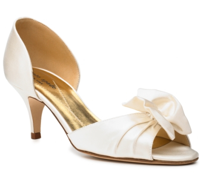 designer wedding shoes 2013 - kate spade new york