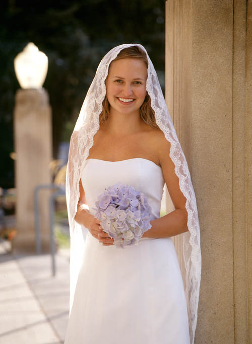 mantilla wedding veils
