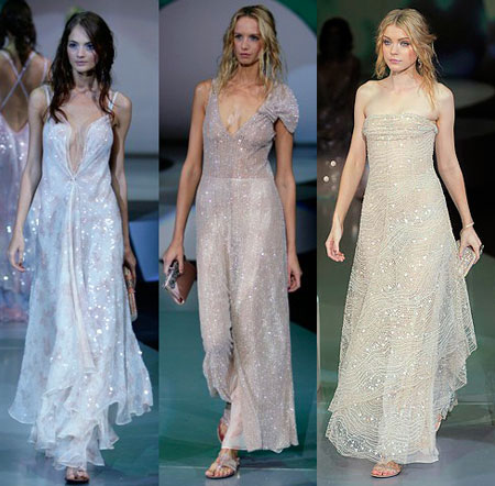 armani wedding dresses