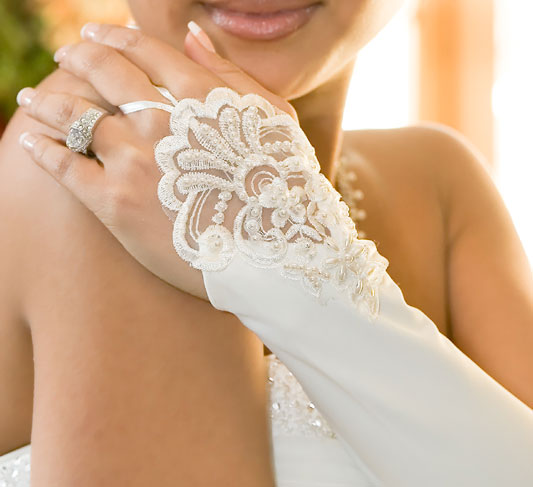 Types of Wedding Gloves