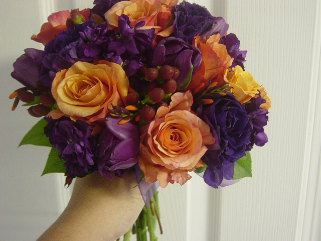 purple fall wedding flowerscherry marry cherry marry