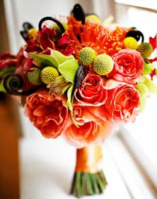 stunning fall wedding flowers