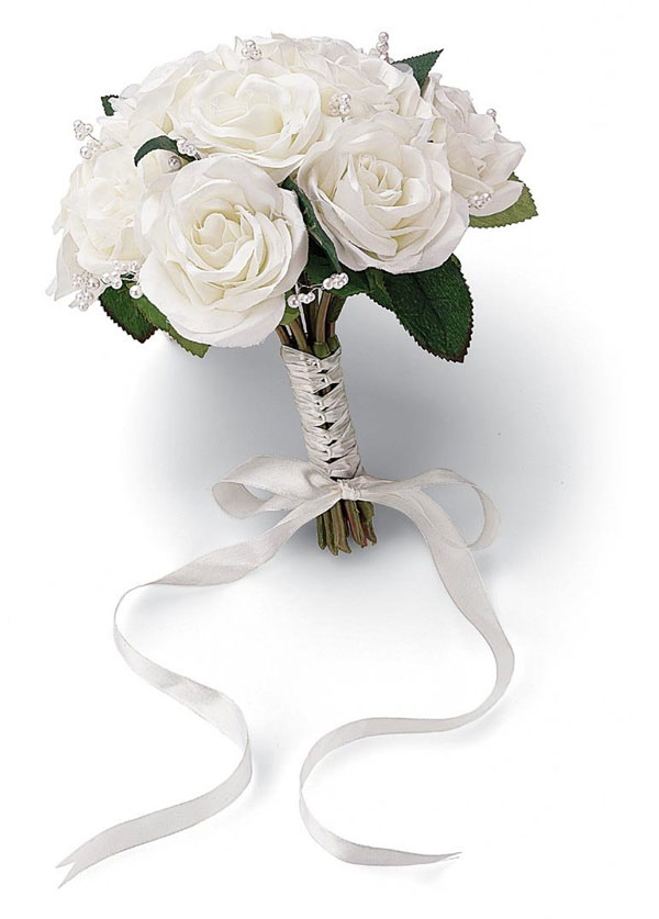 Wilton French Rose Wedding Bouquet