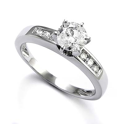 and white gold engagement rings cherry