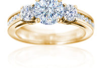 beautiful gold engagement ring