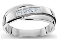diamond white gold engagement ring design
