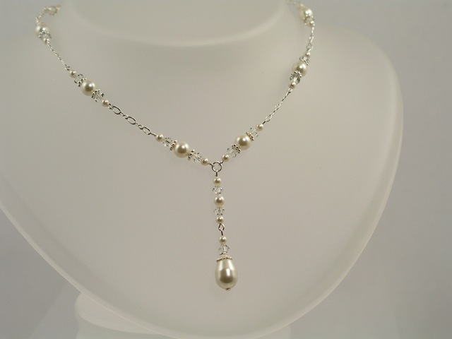 Pearl Bridal Necklace Jewelry