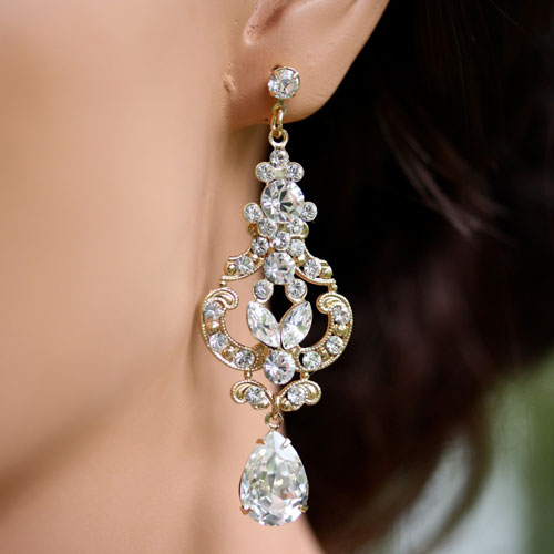 Tips on Opting for Beautiful Bridal Earrings
