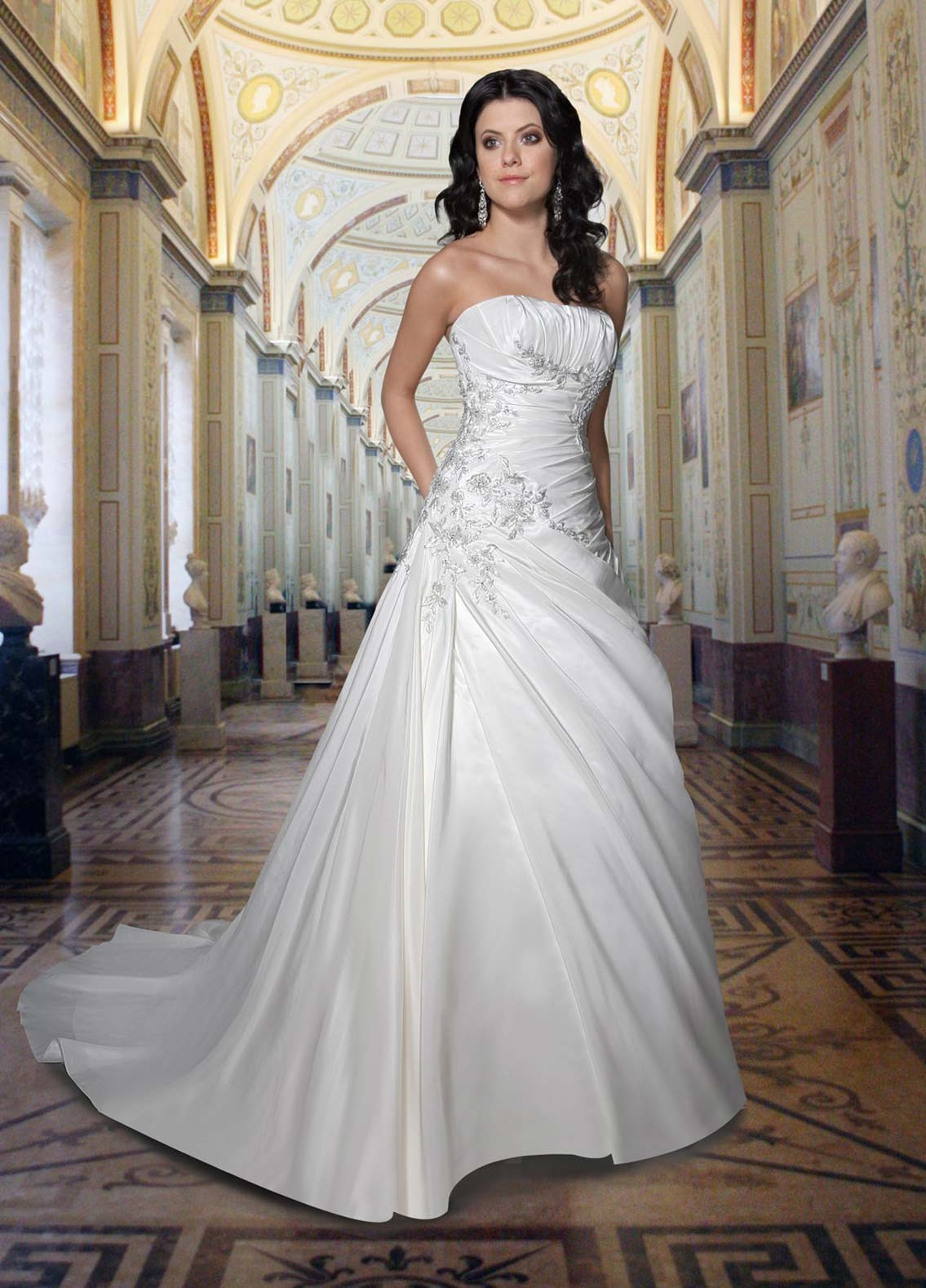 strapless wedding dresses_02
