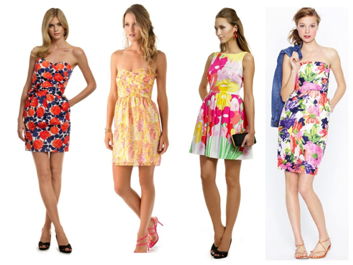 Above Are Colorful Short Summer Beach Wedding Guest Dresses
