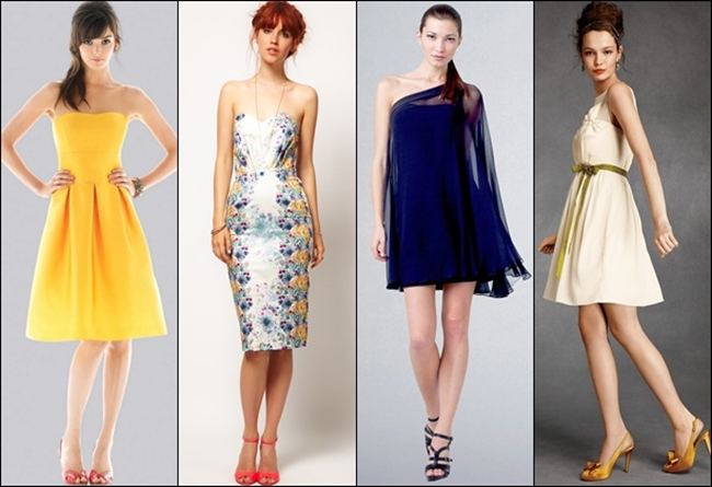 short summer wedding guest dresses