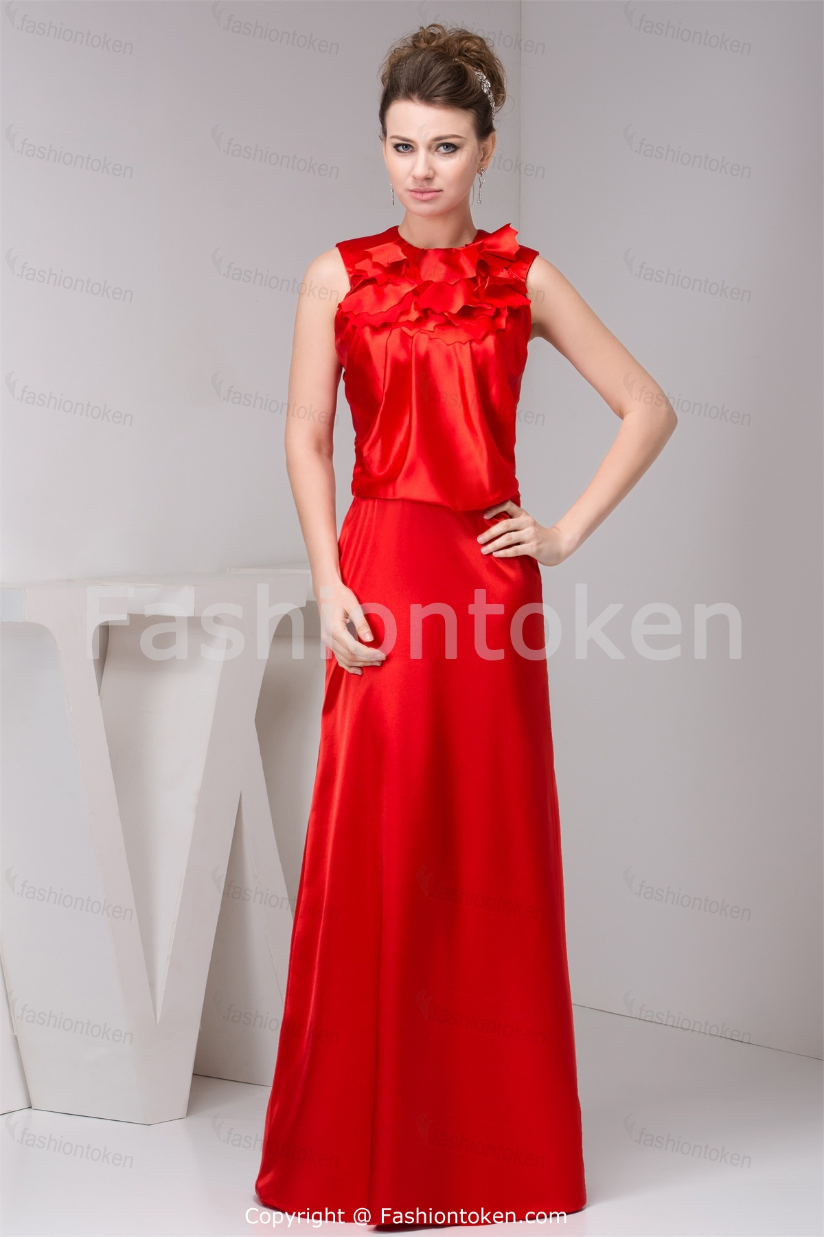 Gorgeous photos of red wedding guest dresses cherry marry for Dress for a spring wedding