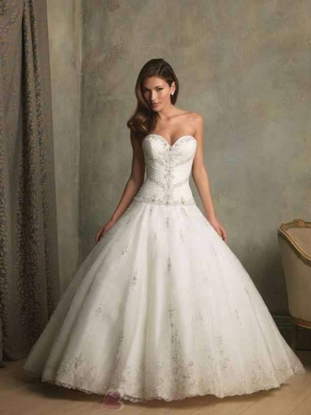 Elegant collection of beaded ball gown wedding dresses for Marry me wedding dresses