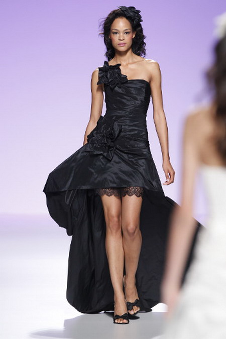Dark Short Wedding Dresses