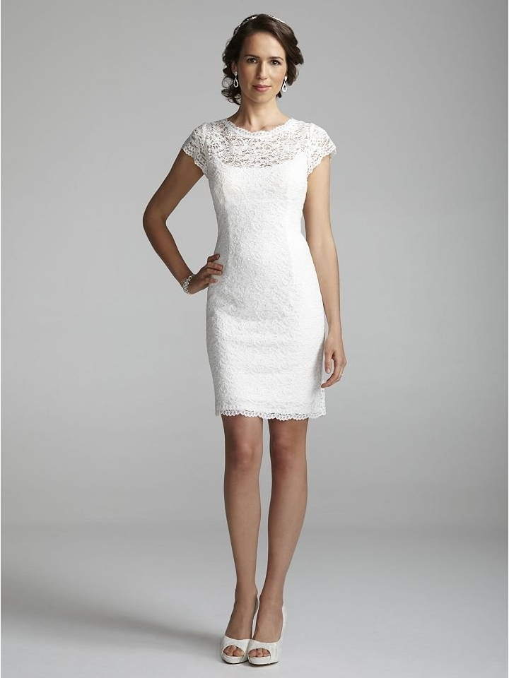 Wedding Dresses With Lace Short Sleeves 97