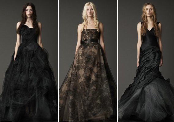 Elegant collections of vera wang black wedding dresses cherry marry vera wang black wedding dresses junglespirit Images