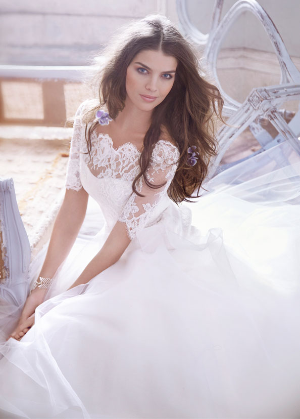lace ball gown wedding dresses