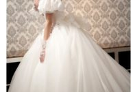 ball gown wedding dresses with off the shoulder sleeves
